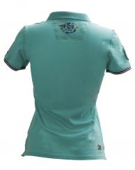 Damen Poloshirt Icon - Blau