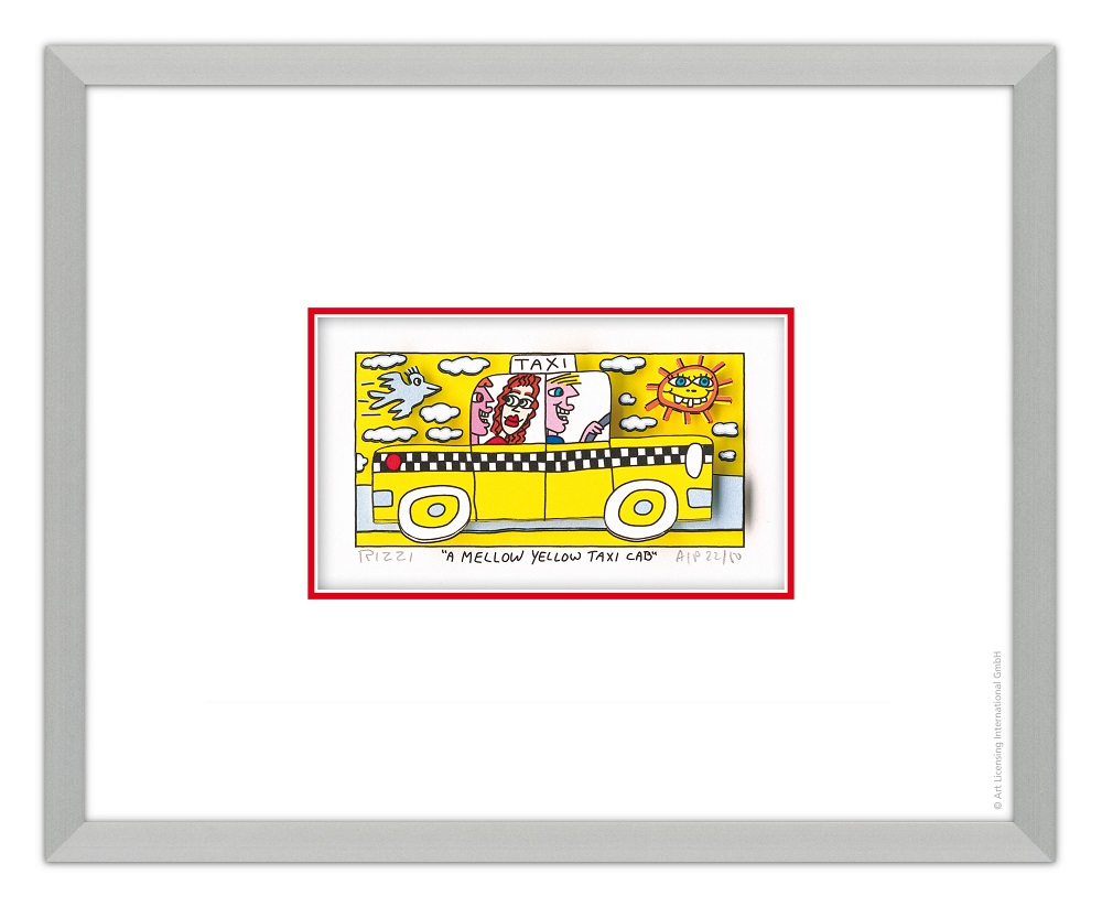 new styles ace70 a2800 AIDA Onlineshop | James Rizzi - A mellow yellow taxi cab | online kaufen